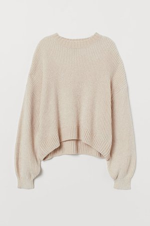HM Beige Sweater