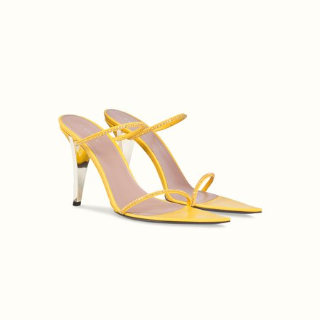 T Heel two straps sandals 105 | FENTY