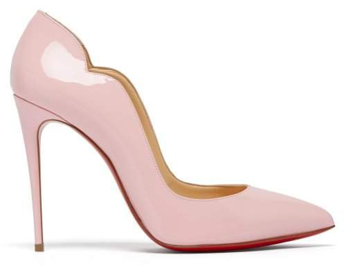 Hot Chick 100 Patent Leather Pumps - Womens - Light Pink