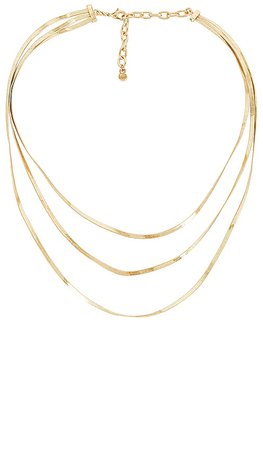 BaubleBar Raven Necklace Set in Gold | REVOLVE