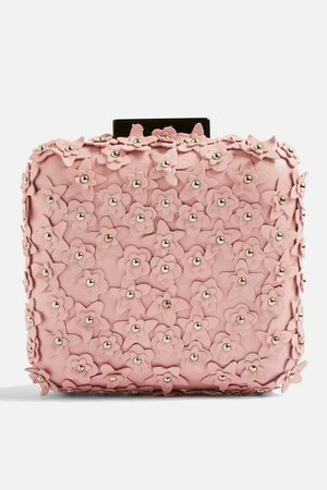 Leather Cutout Flower Clutch - Shop All Accessories - Bags & Accessories - Topshop USA