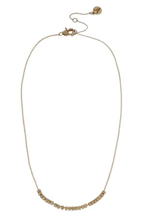 ALLSAINTS Mini Beaded Frontal Necklace | Nordstrom