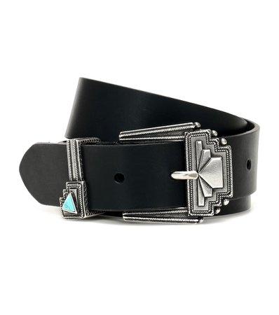 Etro - Leather belt | Mytheresa