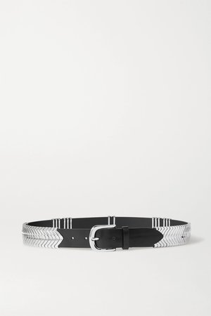 Black Tehora embellished leather belt | Isabel Marant | NET-A-PORTER