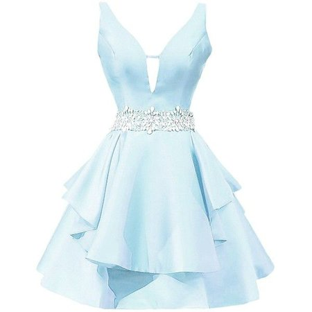 ice blue prom dresses short polyvore - Google zoeken