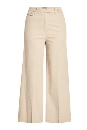 Cropped Cotton Pants Gr. US 4