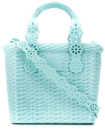 Lace bucket bag