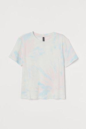 Printed T-shirt - Pink