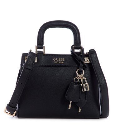 GUESS Katey Mini Satchel & Reviews - Handbags & Accessories - Macy's