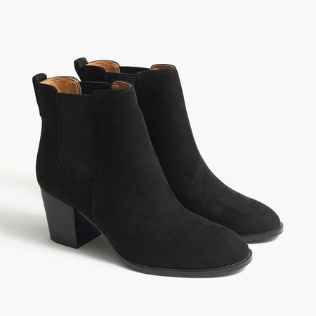 Rory microsuede heeled boots