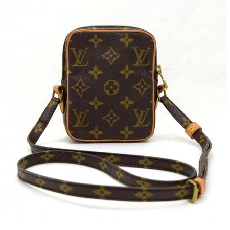 Louis Vuitton vintage brown bag monogram