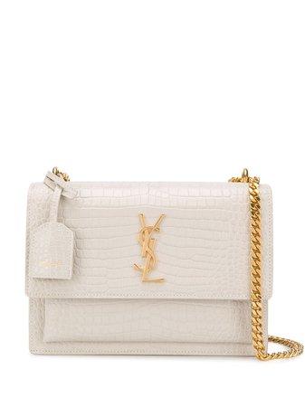 Shop Saint Laurent medium Sunset shoulder bag with Express Delivery - FARFETCH