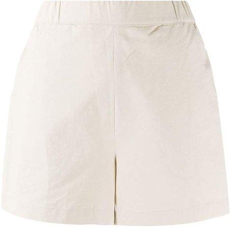 High-Rise Slip-On Shorts