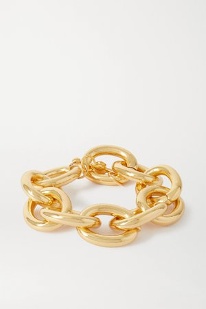 Gold Gold-tone bracelet | Kenneth Jay Lane | NET-A-PORTER
