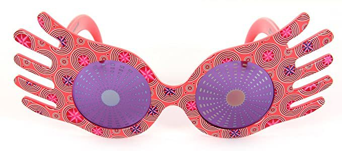 Amazon.com: Harry Potter Luna Lovegood Spectrespecs Costume Glasses for kids and adults: Clothing
