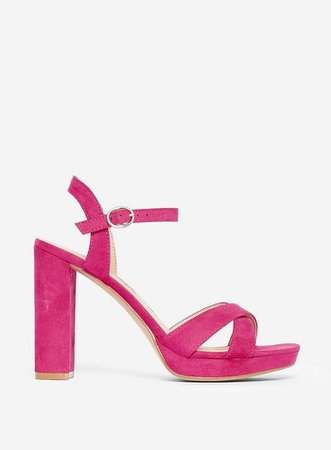 Pink 'Saucy' Heeled Sandals | Dorothy Perkins