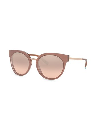 Tiffany & Co Eyewear Butterfly Frame Sunglasses - Farfetch