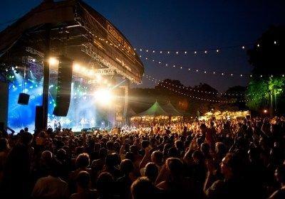 outdoor concert aesthetic