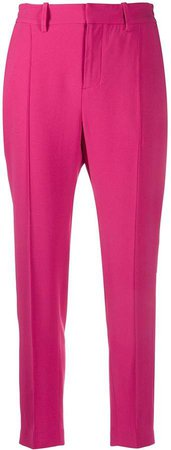 Zadig&Voltaire pleated detail cropped trousers