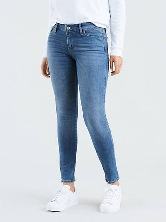 Levis 711 Skinny Jeans (Indigo Rays)
