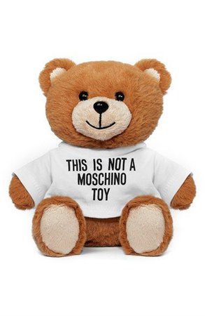 moschino stuffed bear - Google Search