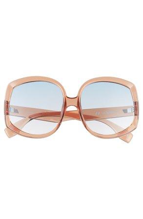 Le Specs Illumination 59mm Square Sunglasses   Nordstrom
