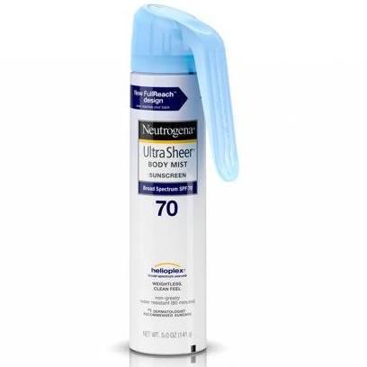 neutrogena ultra sheer lightweight sunscreen spray spf 100 - Google Search