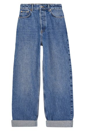 Topshop Oversize Tapered Mom Jeans (Petite) | Nordstrom