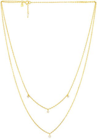 By Charlotte Gold Droplets Necklace