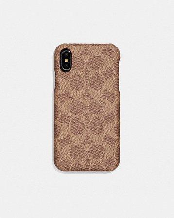 iphone x case- coach