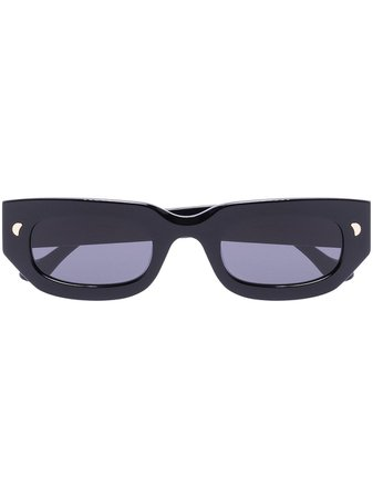 Nanushka Kadee rectangle-frame sunglasses - FARFETCH