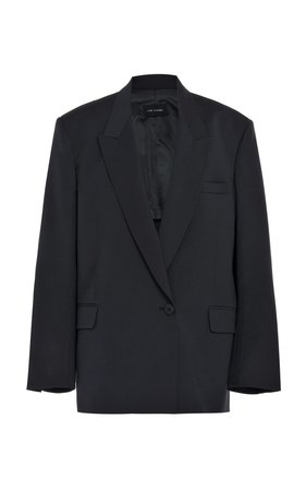 Wool-Blend Blazer by Low Classic | Moda Operandi