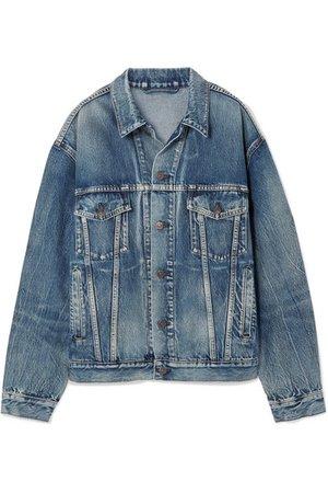 Balenciaga | Like A Man oversized printed denim jacket | NET-A-PORTER.COM