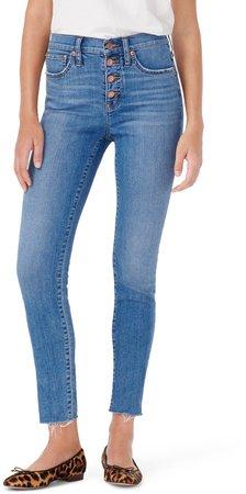 High Waist Toothpick Jeans