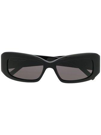 Shop black Saint Laurent square-frame sunglasses with Express Delivery - Farfetch