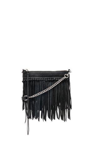 Stevie Top Zip Crossbody Bag