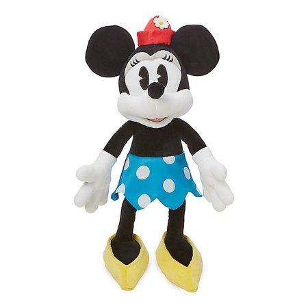Brinquedo de pelúcia vintage médio Minnie, Disney Store
