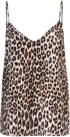 leopard print camisole top