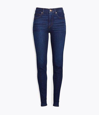 Tall Curvy Skinny Jeans in Classic Dark Indigo Wash