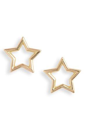 Gold star earrings | Nordstrom