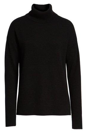 Halogen® Cashmere Turtleneck Sweater