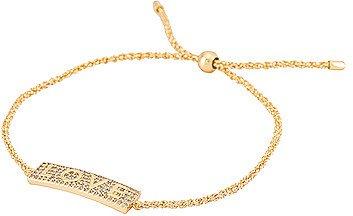 Love Shimmer Plate Bracelet