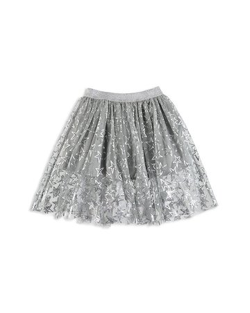 Stella McCartney Girls' Silver Star Skirt - Little Kid, Big Kid | Bloomingdale's