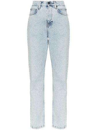 Calvin Klein Jeans Est. 1978 Calça Jeans Slim Baixa - Farfetch