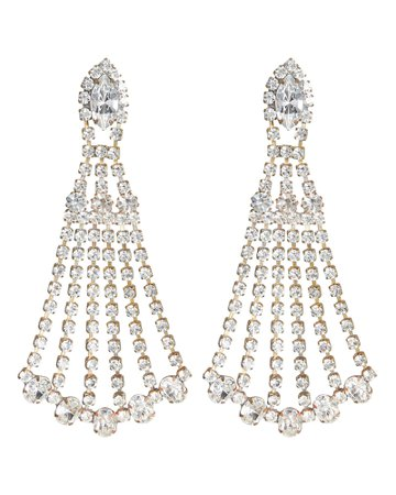 Elizabeth Cole | Shantay Crystal Earrings | INTERMIX®