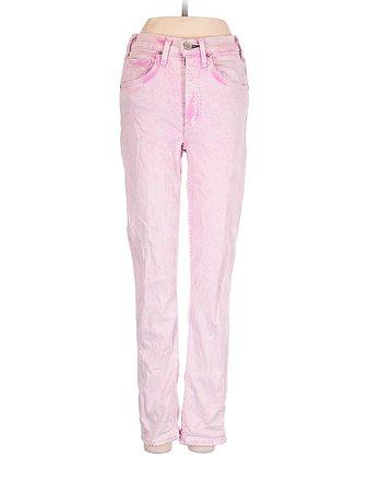 McGuire Denim Pink Jeans 24 Waist - 85% off | thredUP