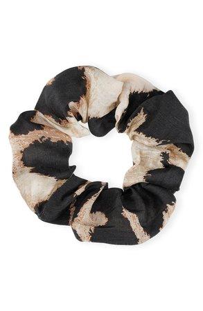 Ganni Linen & Silk Hair Scrunchie | Nordstrom