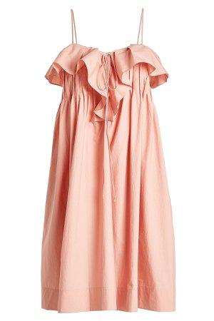 Cotton Midi Dress Gr. UK 12