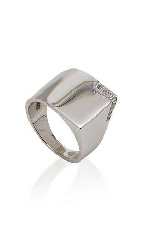 14K Gold Diamond Ring by TULLIA | Moda Operandi