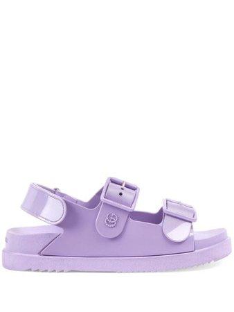 Gucci mini Double G sandals - FARFETCH